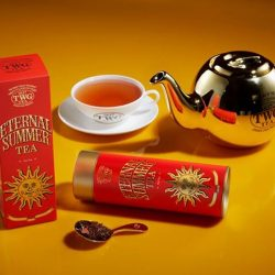 [TWG Tea Salon & Boutique] Now Infusing: Eternal Summer TeaA fragrant South Africa red tea embellished with notes of sweet summer rose blossoms accented