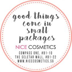 [NICE Cosmetics] Visit our stores today for your Beauty Travel pick at promotional price!