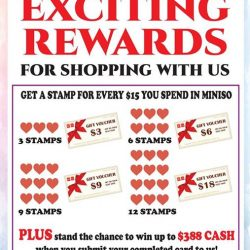 [Miniso] Get rewarded for shopping with us!