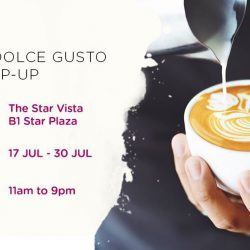 [Nestle Dolce Gusto] Swing by The Star Vista now till 30th July to discover bold new flavours, attractive deals and many exciting activities.