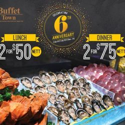 [Buffet Town] We're celebrating our 6th anniversary with a month-long promotion for both lunch AND dinner!