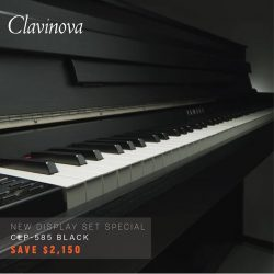 [YAMAHA MUSIC SQUARE] Clavinova Special Sale featuring new display set!