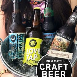 [Morganfield's] Always wanted to try craft beer?