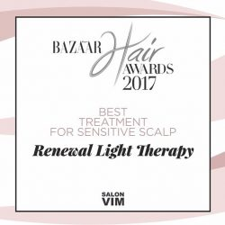 [Salon Vim] A high technology, cleansing and detox treatment suitable for the most sensitive scalp, Renewal Light Therapy has won its place