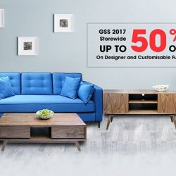[RED APPLE] Our storewide furniture is now a further 20% OFF on top of the 50% GSS sale for 2 days only!
