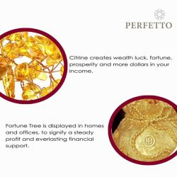 [PERFETTO] Citrine is a powerful stone of abundance.