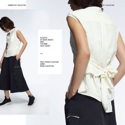 [Chocoolate --- i.t Labels Singapore] Working with a neutral palette, izzue puts a sporty spin to wardrobe staples.