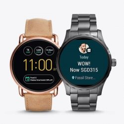 [All Watches / Aptimos] Exclusive 30% discount on Fossil Q Generation 2 touchscreen Display Smartwatch from now till 31st Aug 2017.