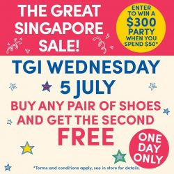 [Build-A-Bear Workshop] This WEDNESDAY only - buy any pair of shoes and get the second pair FREE!