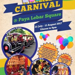 [Paya Lebar Square] It's another fun-filled series of activities at Paya Lebar Square from 21 Jul 17 to 13 Aug 17,