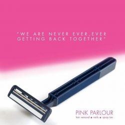 [Pink Parlour] say no to daily shaving!