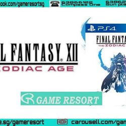 [GAME RESORT] PS4 Final Fantasy XII The Zodiac Age,Enter an era of war within the world of Ivalice.