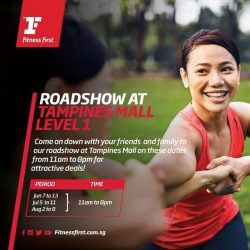 [Fitness First] ROADSHOW AT TM: Get your friends and loved ones to GoFurther with you on your fitness journey with Fitness First!