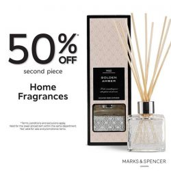 [Marks & Spencer] Turn your home into a zen-tuary, enjoy 50% OFF* second piece Home Fragrances!