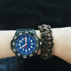 [Luminox] Grab your free customized paracord with every purchase of a Luminox watch at Robinson Raffles City Level 3.