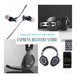 [Sennheiser] Shop your audio needs with same-day delivery on Lazada!