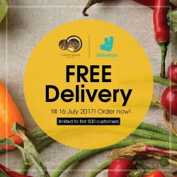 [A-One Claypot House] Enjoy the upcoming weekend with Deliveroo FREE delivery!