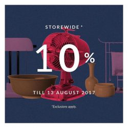 [SCENE SHANG] From now till 13 August, take 10% off storewide, including your favourite porcelain pieces from Middle Kingdom, concrete goods from