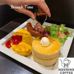 [Hoshino Coffee Singapore] Enjoy your weekend brunch time at Hoshino Coffee!