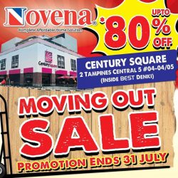 [Novena] Moving out sale is now happening at our Century Square showroom!