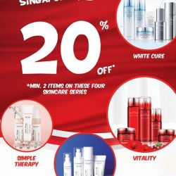 [Missha Singapore] Wait no more to try some of our latest fuss-free skin care with 20% off* these selected products!