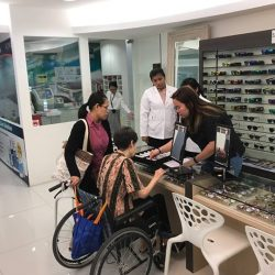 "[Nanyang Optical] As part of our continued efforts in giving back to society, we participated in a collaborative event called ""SPECtacular experience"""