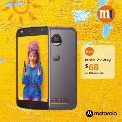 [M1] Capture and spread more smiles with the new Moto Z2 Play!