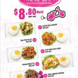 [PORN'S sexy.thai.food] Don't forget to drop by our Porn's outlet at Alexandra Retail Centre to take advantage of our Aroy