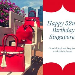 [audaash] Celebrate national day with a new bag in our national colors!