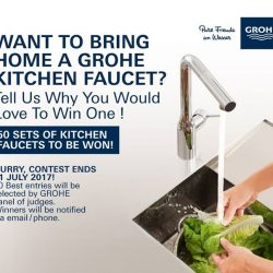 [GROHE SPA] LAST DAY TO WIN A GROHE FAUCET!