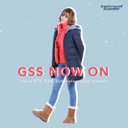 [Universal Traveller] Grab your winter travel essentials at a steal this GSS!