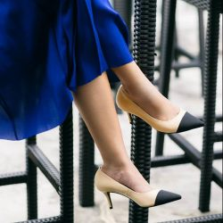 [PAZZION Singapore] Elegant and classy, these pumps are ideal for all-day style.