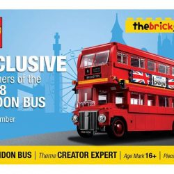 [The Brick Shop] FREE* Limited Edition London Bus Ezlink Card!