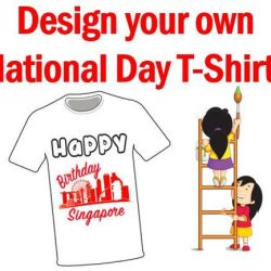 [eXplorerkid] Sign up now to design your own National Day T-shirt at eXplorerkid!