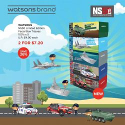 [Watsons Singapore] 50 years of grit, determination and dedication has led to this– NS50.
