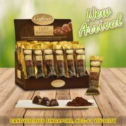 [Candylicious] Caffarel new dark chocolate snack bar from I LOVE FONDENTE series!