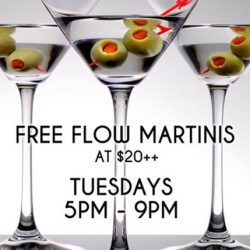 [The Beacon] Tuesday Martini Free Flow for $20++ and 1for1 All Draught Beers & House Pours during Happy Hour