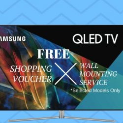 [Mega Discount Store] Head Down to Our Samsung QLED TV Road Show and Stand A Chance to Win Exclusive Shopping Vouchers Up To $