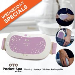 [OTO Bodycare] WEDNESDAY SPECIAL - OTO POCKET SPA at 50% OFF!