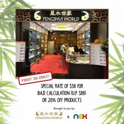 [NEX] The winds of fortune are a-changing with Feng Shui World's latest branch at NEX!