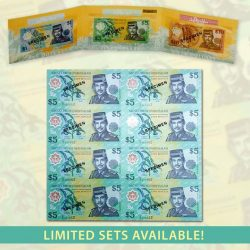 [The Singapore Mint] Featuring the RARE AND LIMITED Brunei currency notes from the 1990s and 2000s!