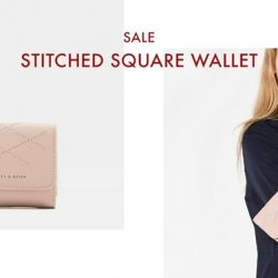 [Charles & Keith] CHARLESKEITH_ONLINE SALE: STITCHED SQUARE WALLET Shop Now: https://goo.
