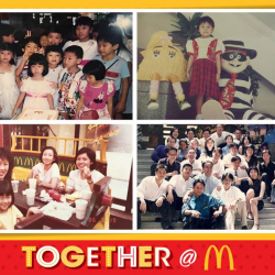 [McDonald's Singapore] Send in your snaps and videos from the last 37 years where McDonald's has been part of our Singapore