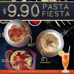 [Gelare Café] Inviting to all pasta lovers to our PASTA FIESTA!