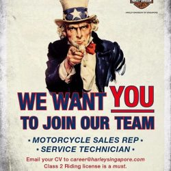 [Harley-Davidson] The Dealership is hiring.