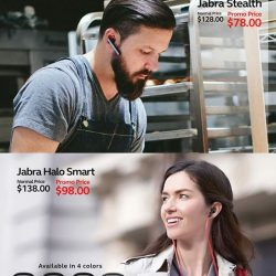 [Newstead Technologies] Unplug and go wireless with wireless headsets from Jabra now with up to $50 off!