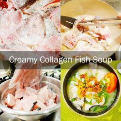 [THE SEAFOOD MARKET PLACE BY SONG FISH] Creamy Collagen Fish SoupCollagen + Fish stock wohoo!