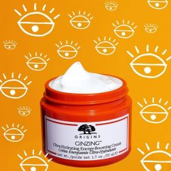 [Origins] Give skin a jolt of hydration and radiance with this oil-free moisturizer!