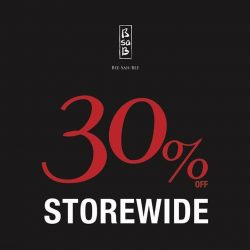 [BsaB] Start your weekend right with our 30% Storewide Sale.