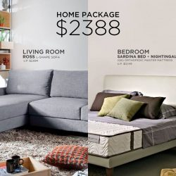 [Cellini] Get your Living Room Set and Designer Bedframe and a Nightingale Silenite Premium Quality Mattress.